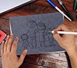 Selizo 50 Sheets Carbon Paper Black Graphite