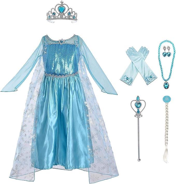 Amazon.com: Disfraz de fiesta de princesa inspirado en la ...