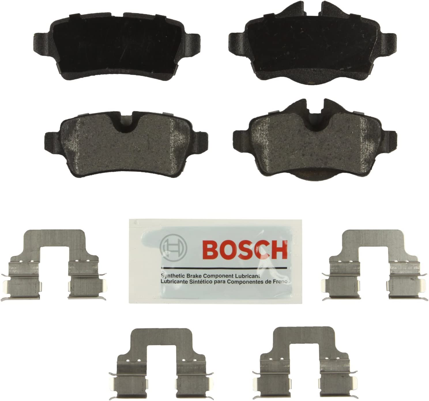 Bosch BE1309H Blue Disc Brake Pad Set with Hardware