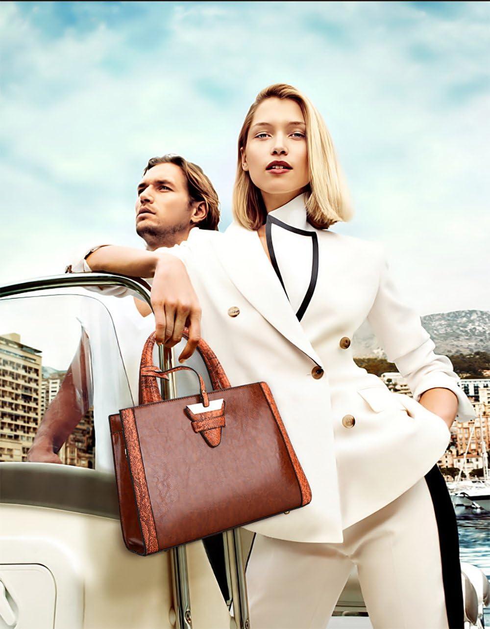 Womens Handbags Design Elegant top Handle Bag Luxury Oil Wax Leather Bags Shoulder Bag for Ladies Black
