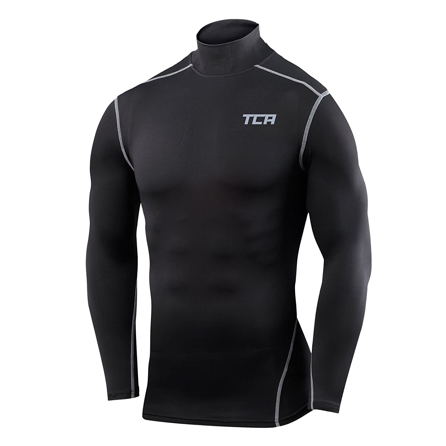 8ea35e2bb9cef good TCA Pro Performance Compression Base Layer Long Sleeve Thermal Top -  Mock Neck