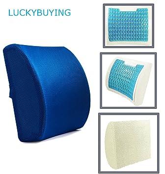 Gel de silicona película azul hielo almohada rebote lento almohada esponja de hielo cristal almohada memoria espuma ...