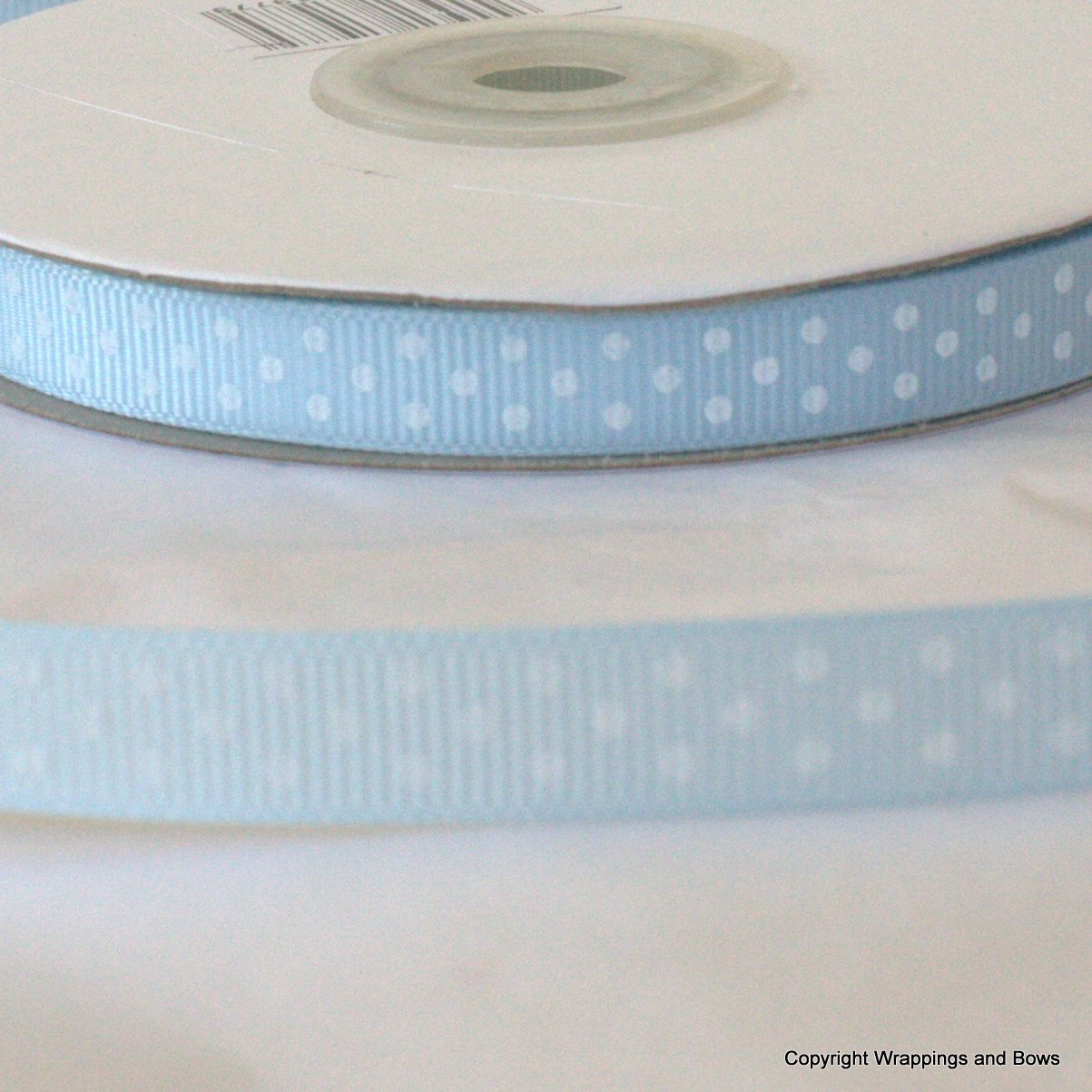 10mm Baby Blue /& Pink Ribbon Sold by the metre New Baby pastel grosgrain ribbon