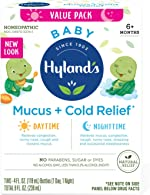 Infant and Baby Cold Medicine, Hyland's Baby Mucus + Cold Relief,