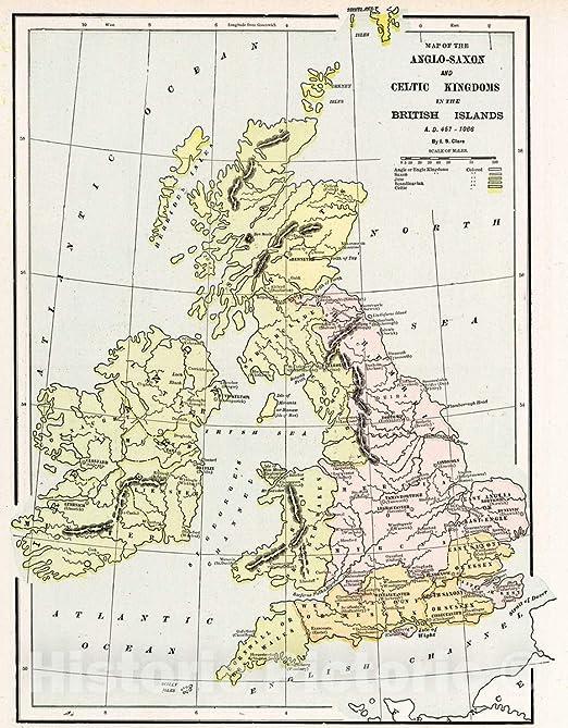 Choose 1901 Map of Europe Old Vintage Historical Map Art Poster Print Framed