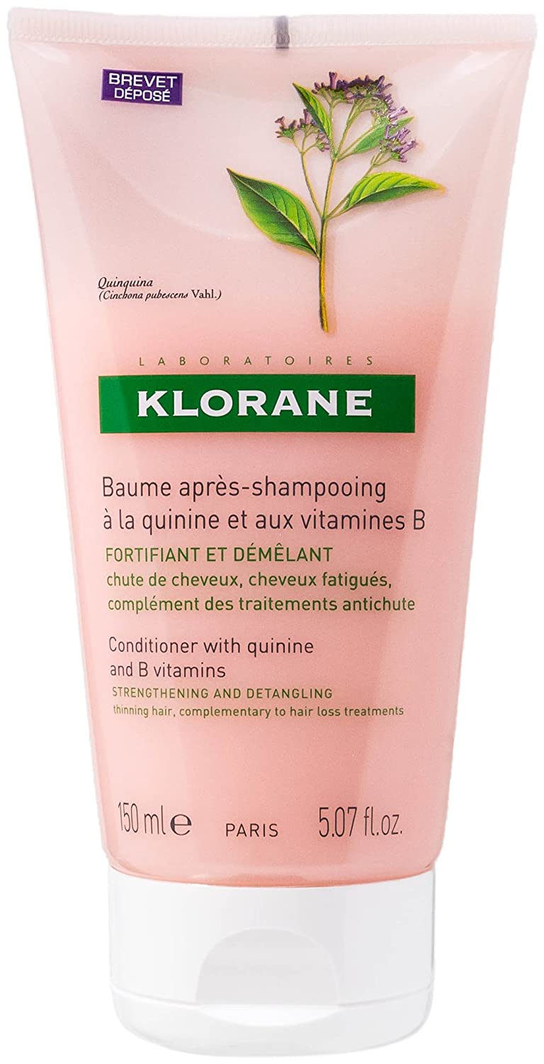 Klorane Quinine and B Vitamins Fortifying and Detangling Conditioning Balm 5.07oz, 150ml KL0358