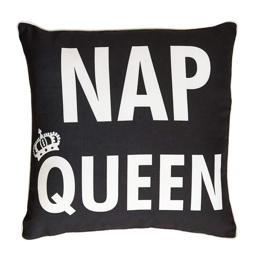 Campus Linens Nap Queen Decorative Accent Pillow for College Dorm Bedding