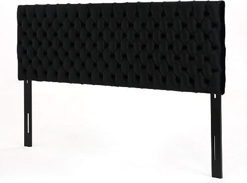 Best modern headboard: Christopher Knight Home Jezebel Tufted Velvet Headboard