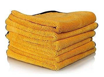 Real limpio – profesional grado Premium toallas de microfibra de química y agua segura material,