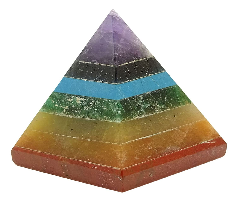 Amazon com: HARMONIZE 7 Chakra Multiatone Reiki Healing Crystal
