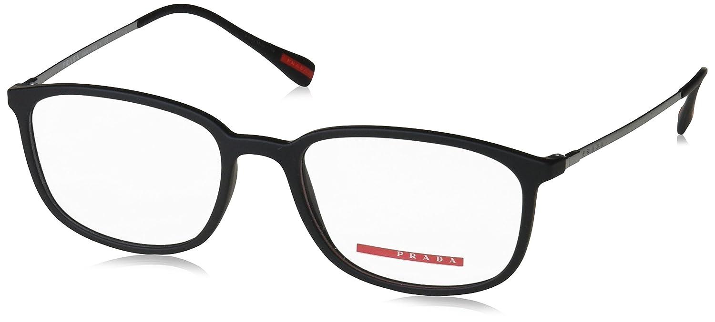 50eaaed87da6 Prada Linea Rossa Men s PS 03HV Eyeglasses 53mm at Amazon Men s Clothing  store