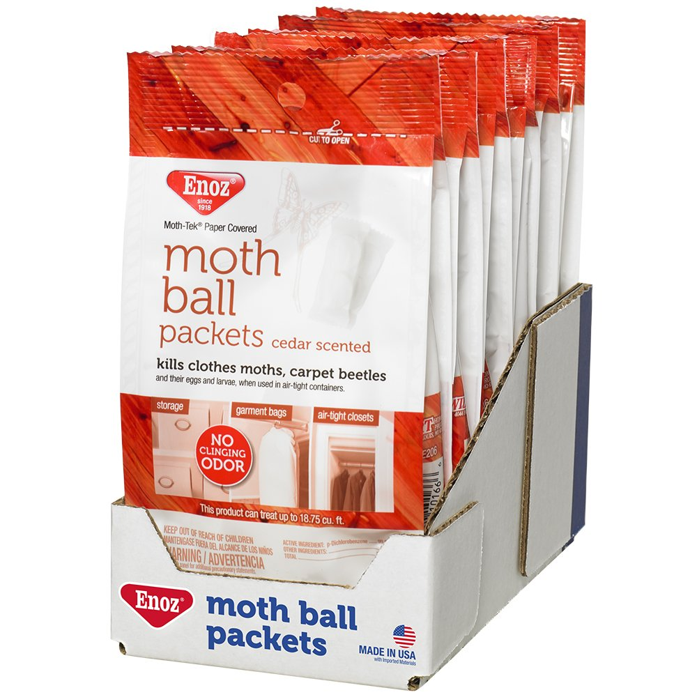 Enoz Moth Ball Packets - Cedar Scented