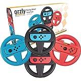 Orzly 任天堂 Switch Joy-Cons 的方向盘套装(请选择并添加到下面的购物车.。)ORZLYNSWITCHWHEEL