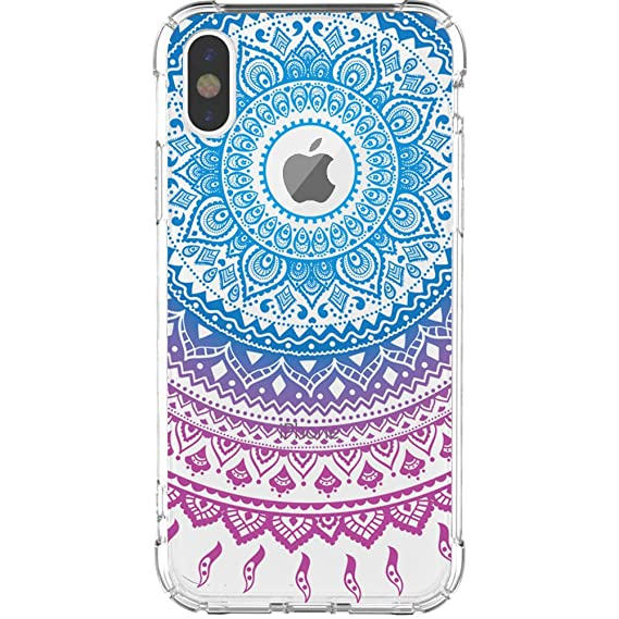 521ad50529cb JAHOLAN iPhone X Case Amusing Whimsical Design Clear Cute TPU Soft Case  Rubber Silicone Cover Phone