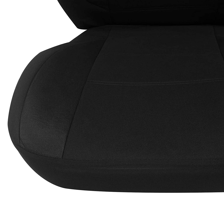 eSituro universal Sitzbez/üge f/ür Auto Schonbezug Schoner Komplettset schwarz SCSC0111