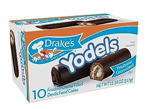 Drake's Yodels Devil's Food Cakes, 11.6 oz, 10 Count