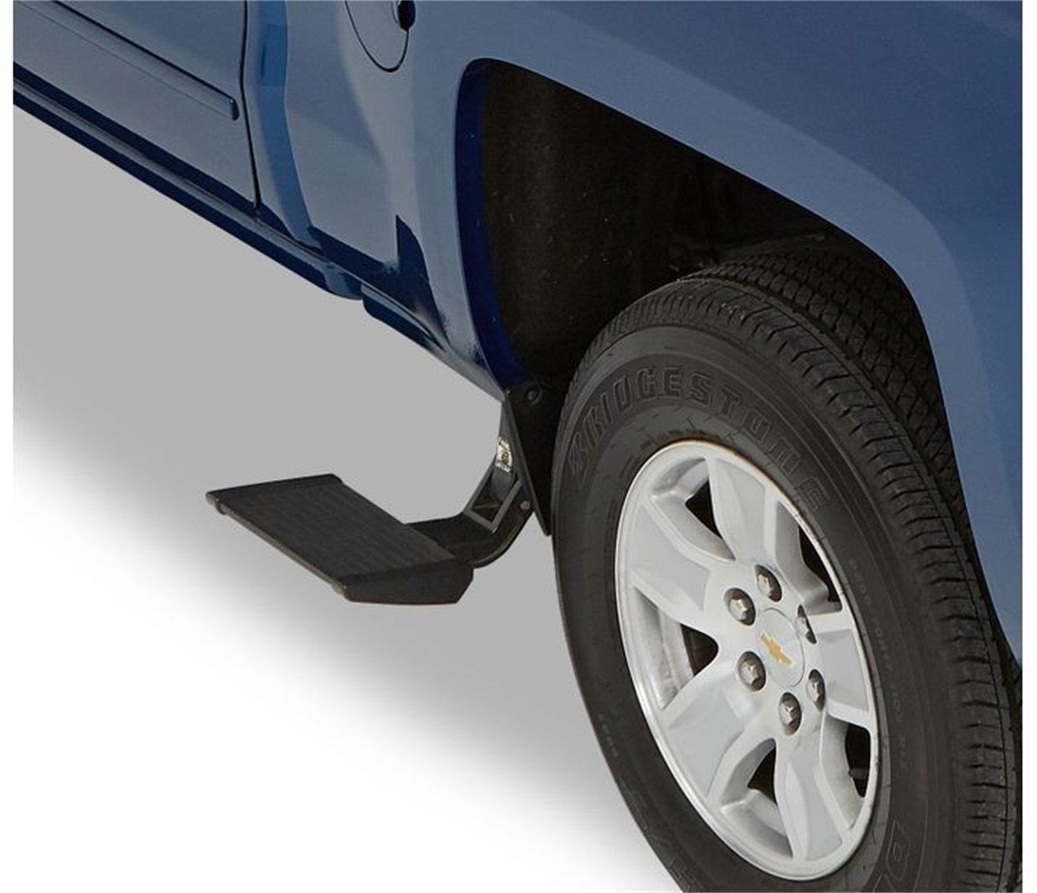 Bestop 75413-15 Side-Mounted Trekstep for 2014-2018 Ram 2500; fits driver side only, 6.3' and 8.0' beds by Bestop (Image #1)
