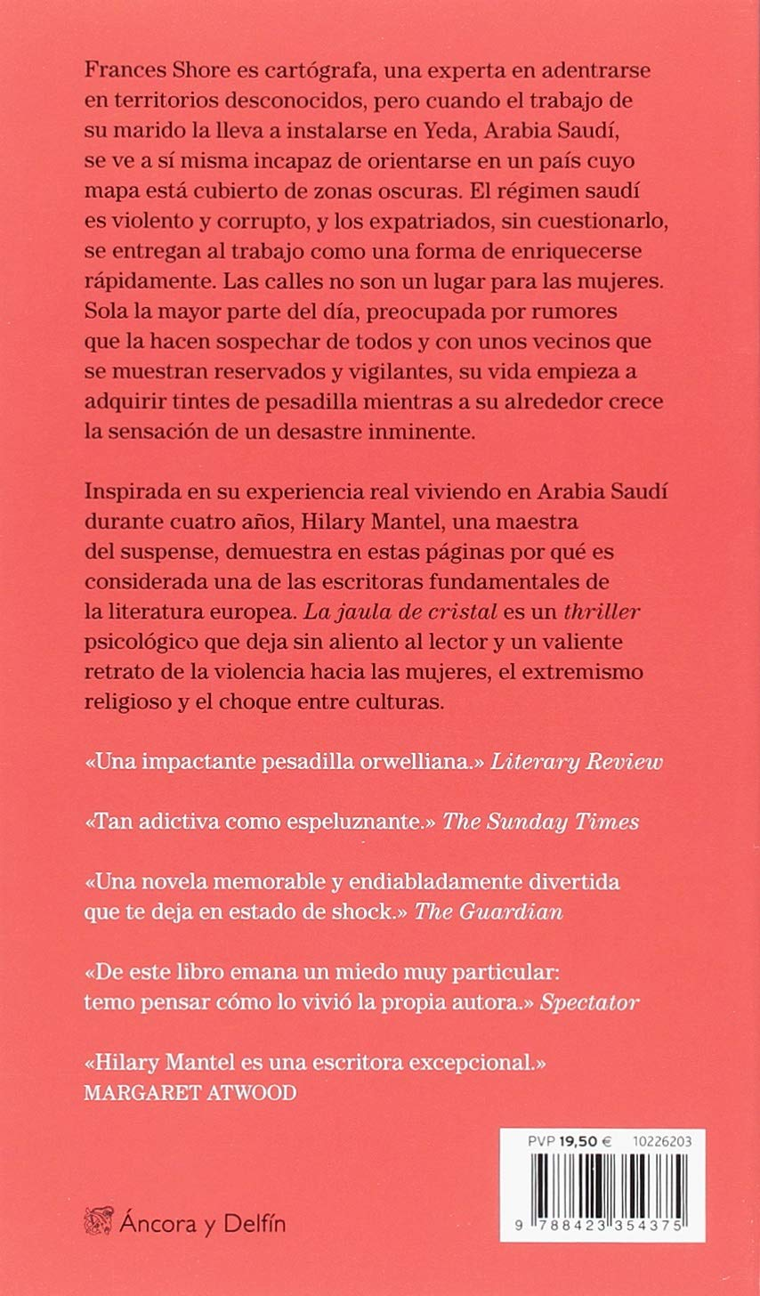 La jaula de cristal (Áncora & Delfín): Amazon.es: Hilary Mantel ...