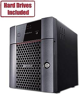 BUFFALO TeraStation 3410DN Desktop 12 TB NAS Hard Drives Included