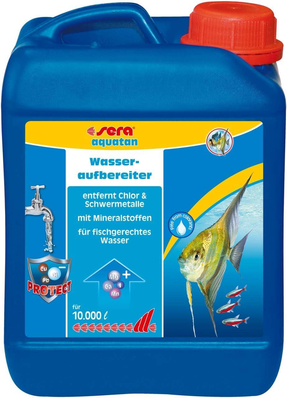 Sera Aquatan - Purificador de Agua (5 ml a 20 l) Purificador de ...