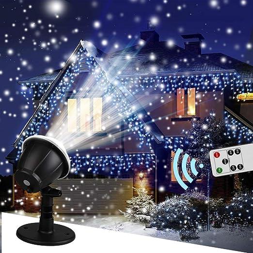 Luces De Proyector De Copo De Nieve Luz De Proyector Led De ...
