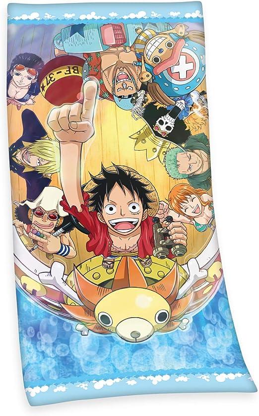 Herding One Piece - Toalla de Terciopelo, poliéster, Multicolor, 75 x 150 cm: Amazon.es: Hogar