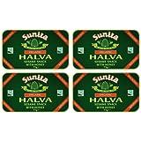 (4 PACK) - Sunita - Org Plain Honey Halva | 75g | 4 PACK BUNDLE