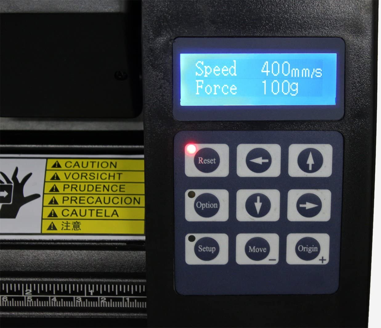 NUEVO EH721 Vinilo Plotter Cortador, Óptico OJO CON SOPORTE -71.1cm: Amazon.es: Electrónica