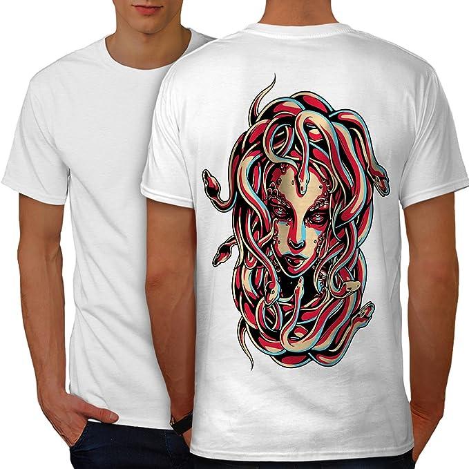 Scary Graphic Design Wellcoda Werewolf Wolf Fear Mens Long Sleeve T-shirt