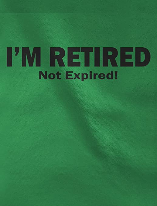 Amazon.com  I m Retired Not Expired Funny Retirement Women Football Jersey T -Shirt  Clothing 43ad97633