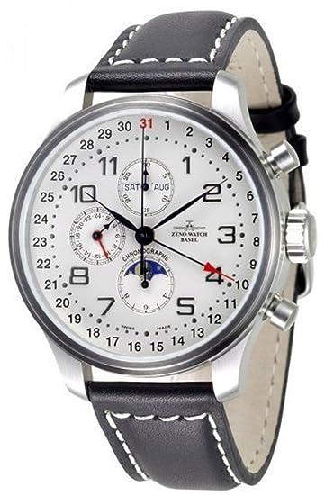 Zeno-Watch Reloj Mujer - OS Retro Cronógrafo full calendar - 8557VKL-e2