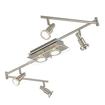 Briloner Leuchten 3167 062 A LED Deckenleuchte Wohnzimmerleuchte Wohnzimmerlampe Schlafzimmerlampe