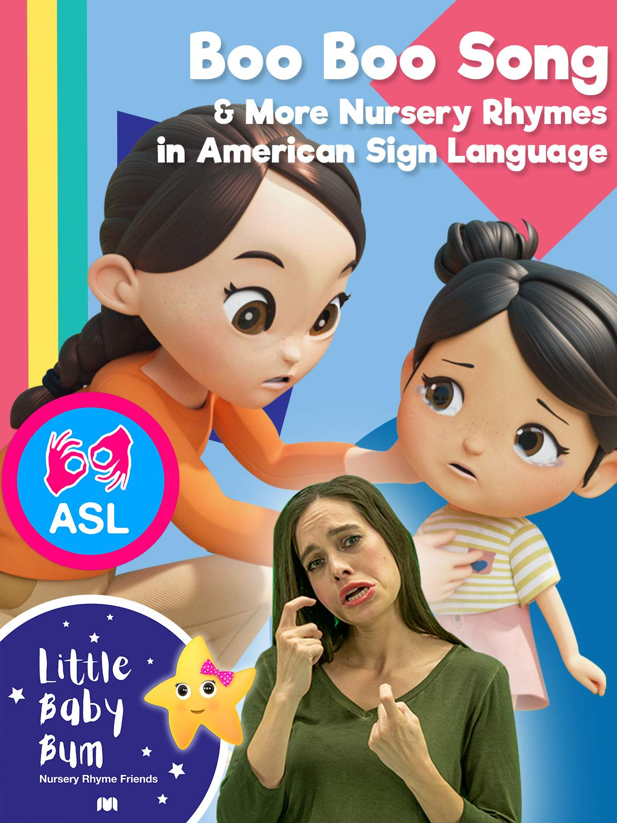 Little Baby Bum - Boo Boo Song & More Nursery Rhymes in Sign Language