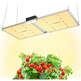 MAXSISUN PB2000 Pro Grow Light, 200W LED Grow Lights for Indoor Plants Full Spectrum with Samsung Diodes and Mean Well Driver
