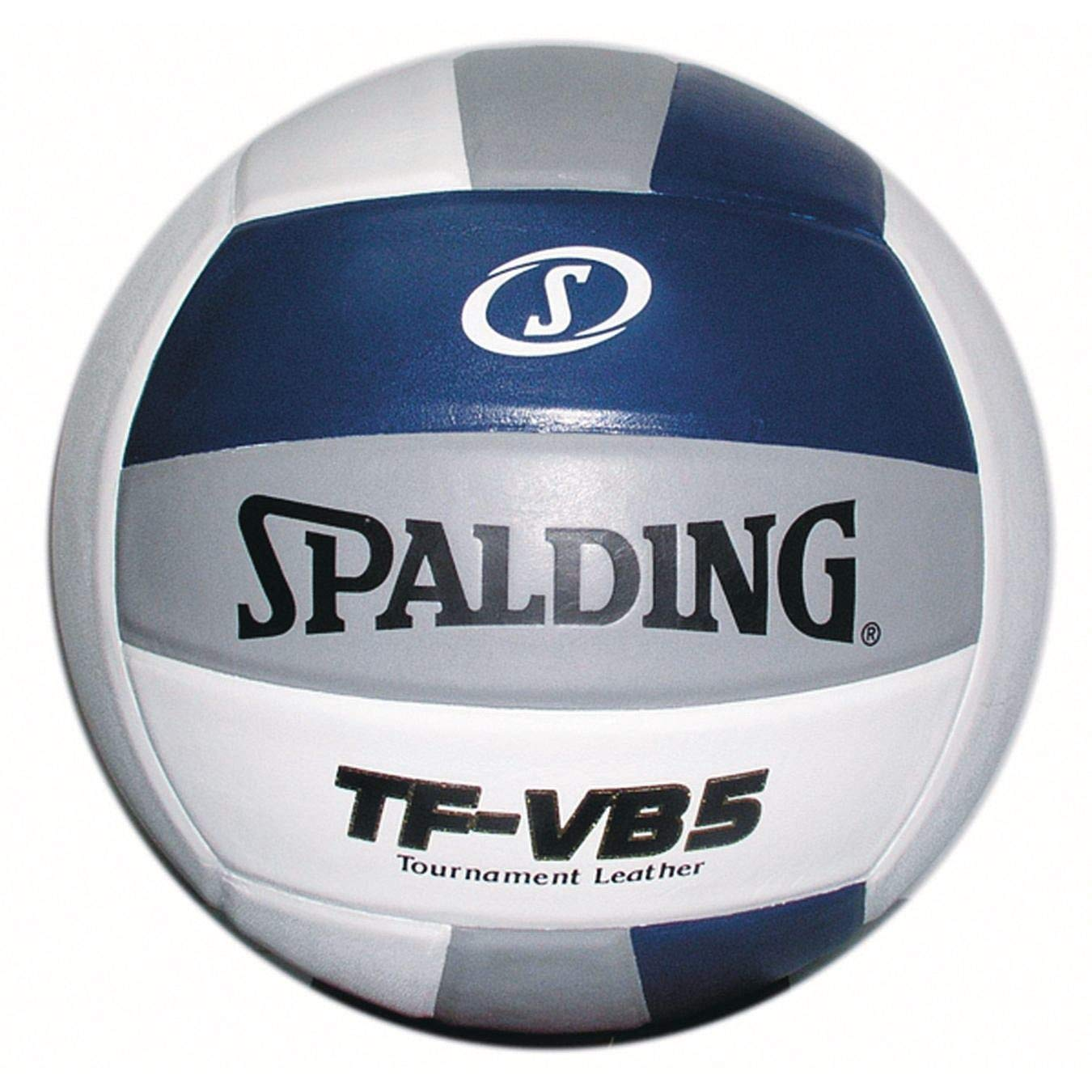 Spalding TF-VB5 NFHS Competition Volleyball (Navy/白い/銀)