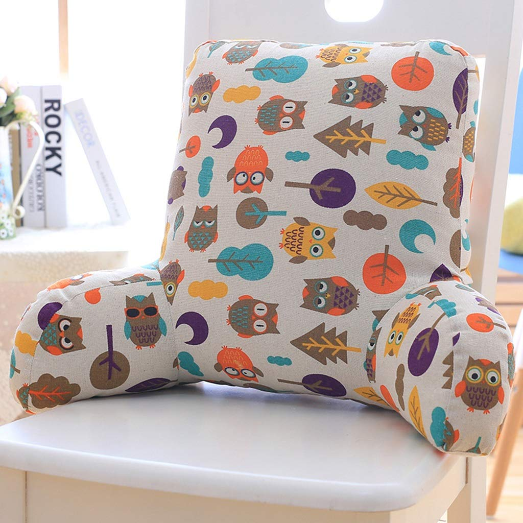 C 533518cm LAAN Waist Cushion, Office Car Seat Relax Waist Pillow Sofa Bed Heightened Backrest Washable Lumbar