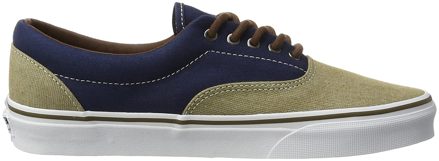 Vans Unisex Era Skate Shoes, Classic Low-Top Lace-up Style in Original Durable Double-Stitched Canvas and Original in Waffle Outsole B01N7G6J6I 11.5 Men's|Dress Blues e79dfc