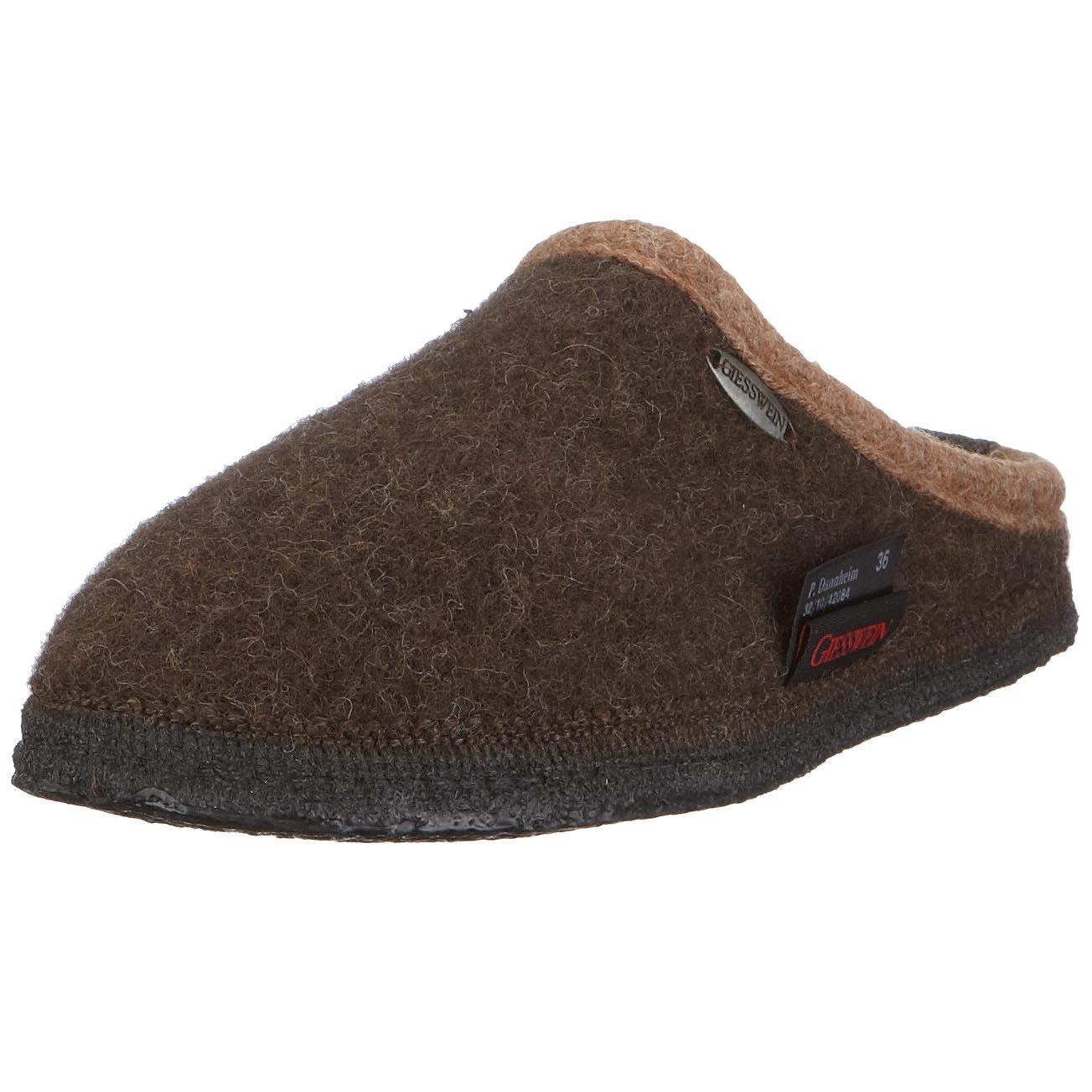 Coffee Giesswein Womens Dannheim Wool Sandals