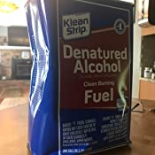 Klean-Strip GSL26 Denatured Alcohol, 1-Gallon