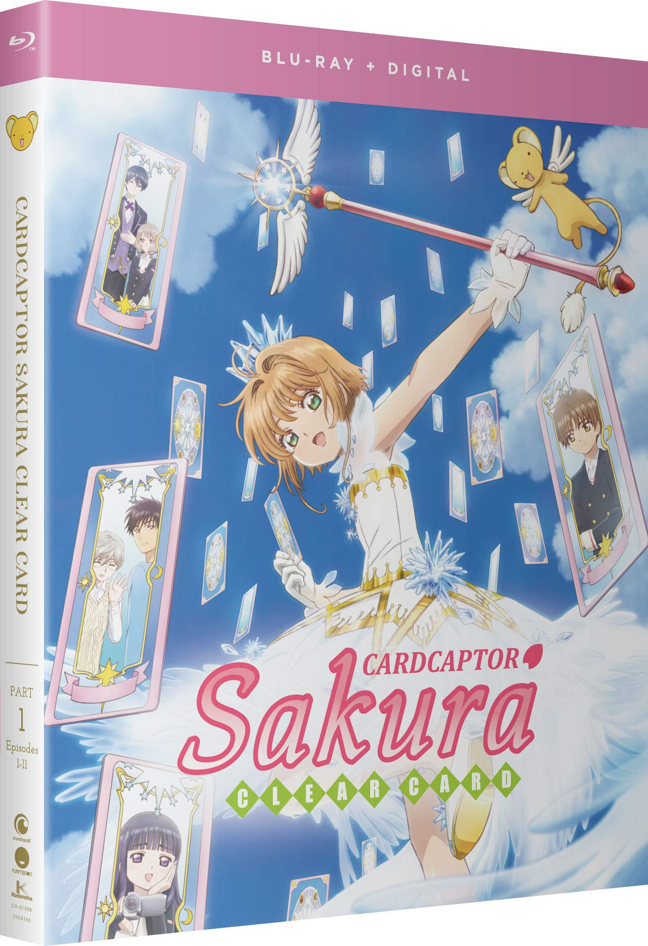 Blu-ray : ARTIST NOT PROVIDED - Cardcaptor Sakura: Clear Card - Part One (Subtitled, 2 Pack, Digitally Mastered in HD)