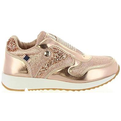 Zapatillas Deporte de Niña LOIS JEANS 83828 432 Bronce: Amazon.es: Zapatos y complementos
