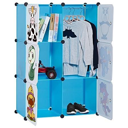 freestanding abs folding dust plastic seal door cupboard diy wardrobe baby item for cartoon