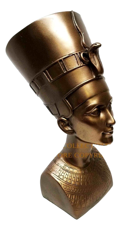 Hermoso antiguo egipcio Reina Nefertiti Busto Estatua de ...
