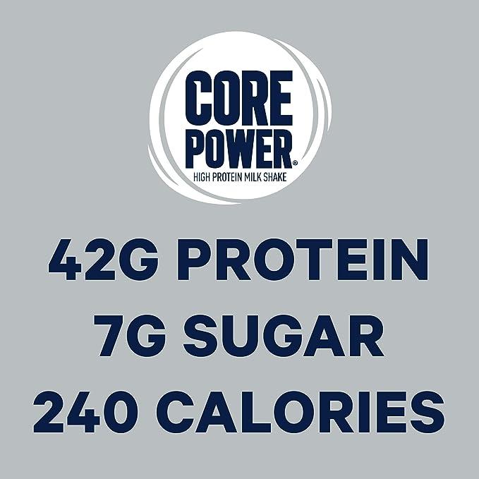 Core Power Elite High Protein Milk Shake, Chocolate, 42g of ...