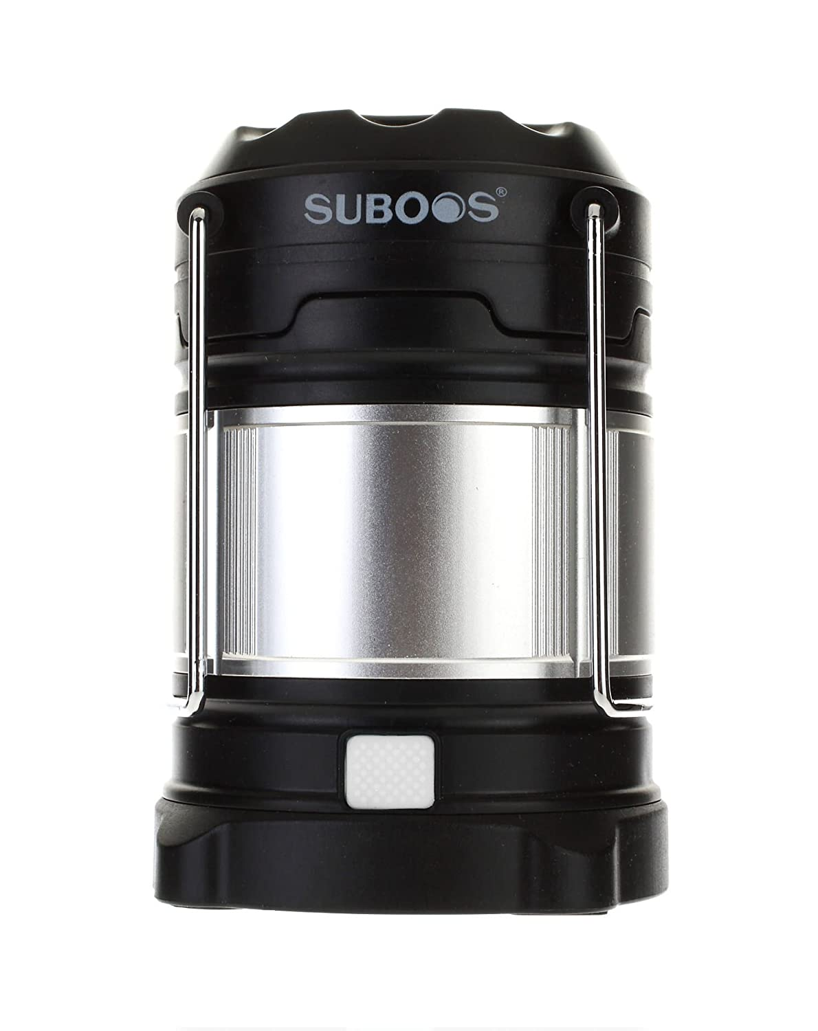SUBOOS Ultimate Rechargeable LED Lantern and 5200mah USB Power Bank - The Most Professional LED Lantern- Great For: Camping, Hiking, Workshop, Auto Emergencies - 2 Battery Options(All Batteries Included)