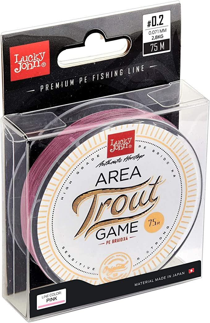 Luckey John Area Trout Game BRAID 075 Braided Line 0.090.09