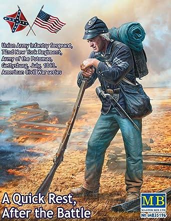 Amazon | マスターボックス 1/35 南北戦争 北軍ポトマック軍歩兵1体 ...