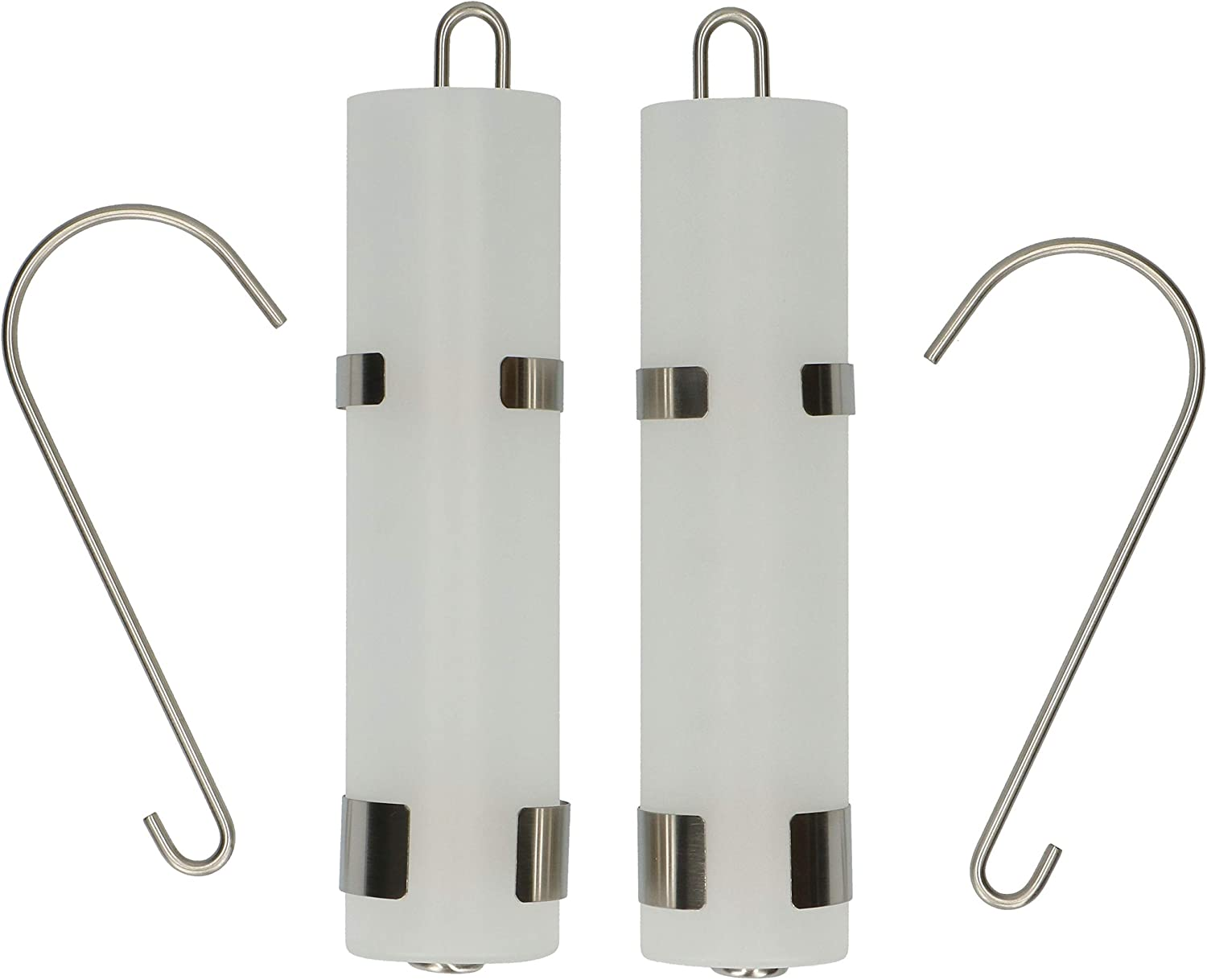 URBNLIVING Set Of 4 Glass Hanging Radiator Humidifier