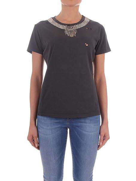 Pinko T-Shirt Donna 1W113uy47vz99 Cotone Nero  Amazon.it  Abbigliamento ed757947d92