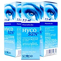 Triple Pack of Hycosan Eye Moisturiser Drops
